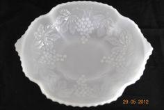 Vintage Milk Glass Oval  Dish by keleidoscope on Etsy  $9.00