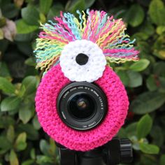 Monica The Monster Lens Buddy A Photographers by cheesypickles
