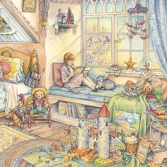 Storybook Afternoon by illustrator Kim Jacobs