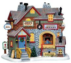 Jake's Cafe, Lemax (#2145)