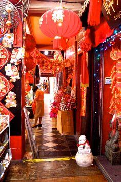 Lady doing her lunar new year shopping- Maya Bhalla
