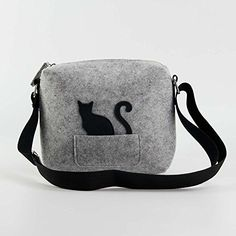 2087 New Design Kitty Felt Handbags, Small, Cute, Fashion and Environment Friendly Felt Bag. ** See this great product.