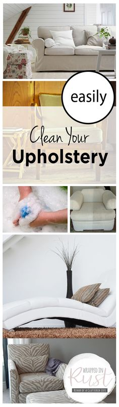 How to Clean Upholst