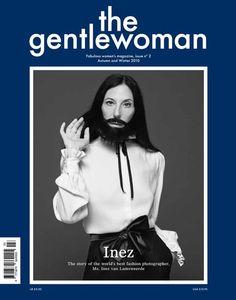 Inez van Lamsveerde on the cover of The gentlewoman