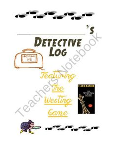 The Westing Game Book Unit from 5 Karat Shop on TeachersNotebook.com (94 pages)  - A very comprehensive, chapter-by-chapter, book unit with a sprinkle of writing and fun activities.