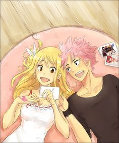 Fairy Tail - Natsu x Lucy - Memories