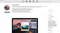 macOS Sierra is now available to download After a summer of beta versions Apple has just released the final version of macOS Sierra. macOS Sierra is the major update of OS X El Capitan  yes OS X is dead long live macOS. Other than the name change this years update brings many neat improvements over El Capitan making it a polished update from day one.  Its available in the Mac App Store as a free download. If you dont see the update right away dont panic as it could take a few minutes due to…