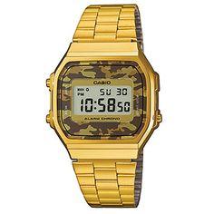 8c743c0b7da Casio Collection Retro A168WEGC-5EF – Gang of Four Retro Watches