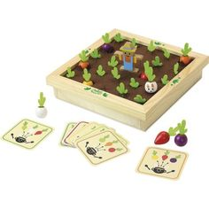 Vilac Hra Zeleninová záhrada Educational Toys For Kids, Kids Toys, Scrabble, Sudoku, Harvest Day, Wooden Toy Boxes, Musical Toys, Memory Games, Pinball