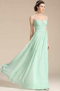 03a61b958c8e Mint zelené společenské šaty na ramínka Svadobné Odevy