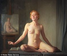 On display after 60 years: The 'brazen' nude painting which scandalised a town