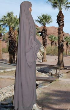 Sand overhead Jilbab