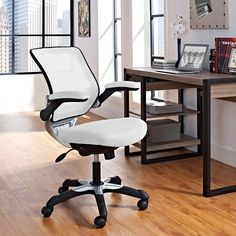 Lexmod Focus Edge Desk Chair Retro Lounge 382 Best Office Chairs Images Modern Adirondack Mesh In White
