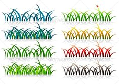 Grass  #GraphicRiver         Folder includes EPS8 file, JPG file and Ai file. Ai file can edit in Adobe Illustrator CS5, CS5.5, CS6 and CC. Grass.     Created: 13August13 GraphicsFilesIncluded: JPGImage #VectorEPS #AIIllustrator Layered: No MinimumAdobeCSVersion: CS5 Tags: beauty #blue #colorful #decoration #ecology #element #environment #evening #garden #grass #green #growth #herbal #isolated #life #meadow #natural #nature #night #outdoors #spring #summer
