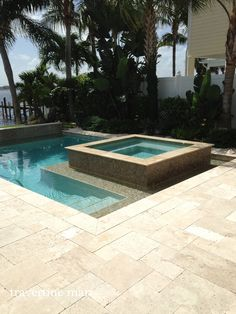 French Pattern Ivory Travertine Pavers  http://www.travertinemart.com/products-page/ivory/premium-select-french-pattern-ivory-tumbled-travertine-pavers