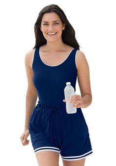 dcd60087c3 Plus Size Swim Jogger Plus Size Bikini, Plus Size Swimsuits, Fashion  Joggers, Woman
