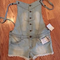 Jolt Overall with Attached Short NWT Jolt Other