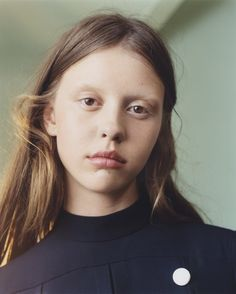 Mia Goth by Harley Weir for Vogue UK January 2015