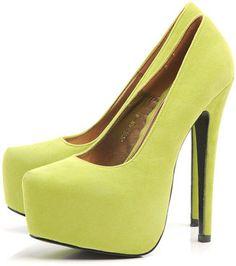 ShopStyle: Faux Suede Platform Shoe