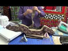 How to use a 1 yard panel in a quilt. - YouTube