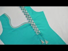 Different types of necklines to try in your Kurtis.Kurta Neck Design for Kurti neck designs.Trendy neck patterns to try in Chudithar Neck Designs, Neck Designs For Suits, Blouse Back Neck Designs, Neckline Designs, Sleeves Designs For Dresses, Fancy Blouse Designs, Dress Designs, Kurtha Designs, Salwar Neck Designs