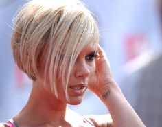 Short Wedge Hair Cuts for Women Over 50 | 2007 MTV Movie Awards.Gibson Amphitheatre, Universal City, CA. (Bauer ...