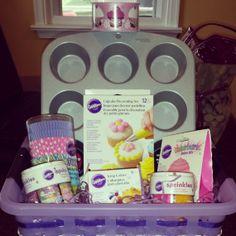Cupcake Baking Raffle Basket