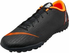 new concept 7b2f0 40a76 Nike VaporX 12 Academy TF – Black Total Orange