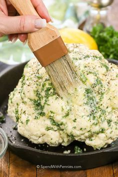 Whole Roasted Cauliflower - Spend With Pennies