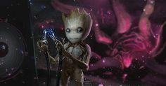 Guardiões da Galáxia Vol. 2 | Artes conceituais mostram o crescimento do Bebê Groot