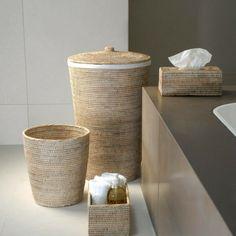 choisir un panier à linge pour votre salle de bains