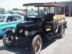 Ford at Brenengen Chevrolet car show in West Salem, WI