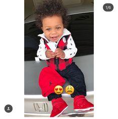 Asian And Black Babies, Black Baby Boys, Cute Black Babies, Cute Little Baby, Little Babies, Cute Baby Boy Outfits, Cute Outfits For Kids, Cute Baby Clothes, Cute Kids