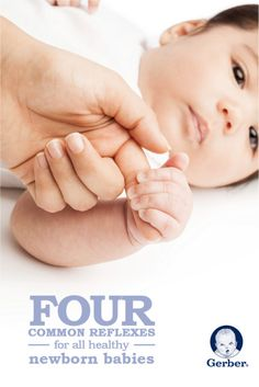 All healthy babies are born with reflexes that eventually give way to conscious movements. Reflexes are nature's way of protecting your baby. Here are a few that are present at birth. Baby On The Way, Our Baby, Baby Boy, Preparing For Baby, Baby Learning, Baby Development, Baby Health, Newborn Care, Everything Baby