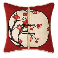 Hanami Square Accent Pillow : Decorative Pillows at PoshTots