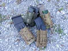 HSGI double decker TACO. Best Mag Pouches Available. They hold almost any magazine out there.