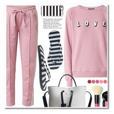 """""""Striped flip flop"""" by paculi ❤ liked on Polyvore featuring Casetify, Tiffany & Co., Bobbi Brown Cosmetics, Kjaer Weis, FlipFlops and chosechic"""
