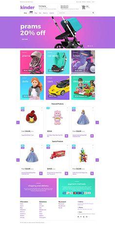 Template 62403 - Kinder Toys  Responsive Shopify  Theme http://www.onlinestoreideas.com/