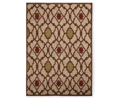 nobel collection tapestry area rug x at big lots
