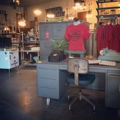 Looking into the Store here at Society of Salvage.  We are constantly changing things up.