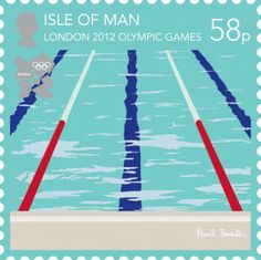 Olympic Stamp by Paul Smith