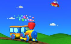 FREE downloadable TuTiTu wallpapers! Make the world a more toddler-friendly, colorful place!