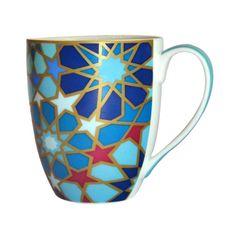 Blue Moucharabieh Mug