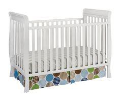 Delta-Children-Products-Winter-Park-3-in-1-Convertible-Crib,-White