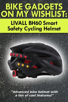 LIVALL MH60 Smart Safety Cycling Helmet is featured in my list over Best Bike Gadgets for Cycling in 2017. Cool bike gadgets I like.  #gadgets #bike #cycling #roadtrip #bestgadgets #coolgadgets #training #riding #bicycle #devices #aids #help #giftideas #newfitnessgadgets #health #heart #road #smarthelmet #livall