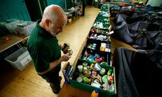 New food bank parcels have been created which contain products that can be prepared by adding boiling water or just eaten cold.