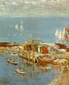 Frederick Childe Hassam - August Afternoon, Appledore - 1900