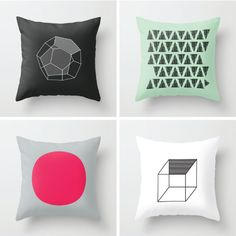 New Geometric Cushion Designs - ArtCream