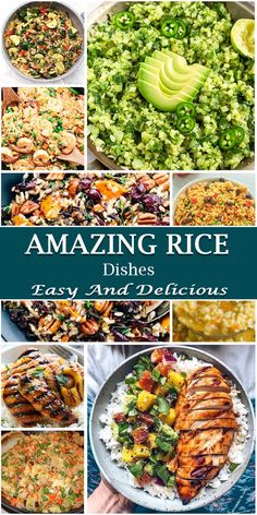 30 Amazing Rice Dishes To Vary Your Meal More Delicious – Yummy – Best Ideas for Dinner Rice Dishes, Tasty Dishes, Food Dishes, Main Dishes, Supper Recipes, Supper Meals, Cooking Recipes, Rice Recipes, Soup Recipes