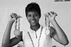 The 20 Most Influential African-American Athletes Who Changed Sports Forever Wilma Rudolph, African American History, American Women, American Story, American Athletes, History Posters, Olympic Gold Medals, Inspirational Posters, Black Artists